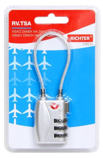Richter Czech kłódka turystyczna RV.TSA.719.S