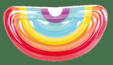 TM Toys Dmuchany, tęczowy materac 172 x 89 x 32 cm