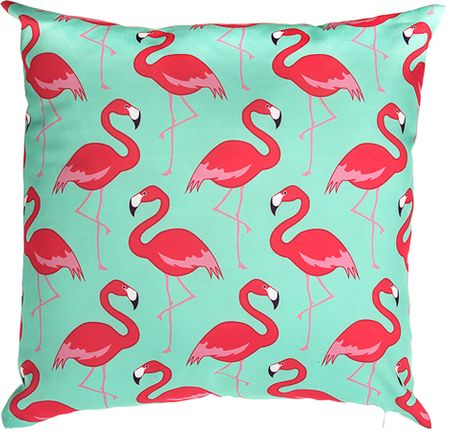 TORO poduszka, flamingi 40 x 40 cm