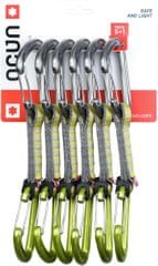 Ocún Hawk QD Wire PAD 16 - pack 5+1 Green