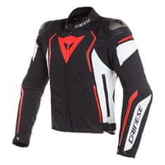 Dainese pánska motocyklová bunda  DYNO TEX čierna/biela/fluo-červená, textilné
