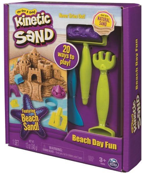 Kinetic Sand Plážová sada s nářadím
