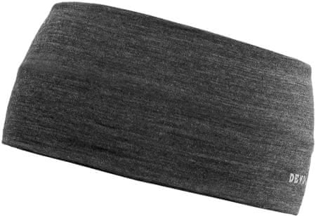 Devold Running Headband Anthracite