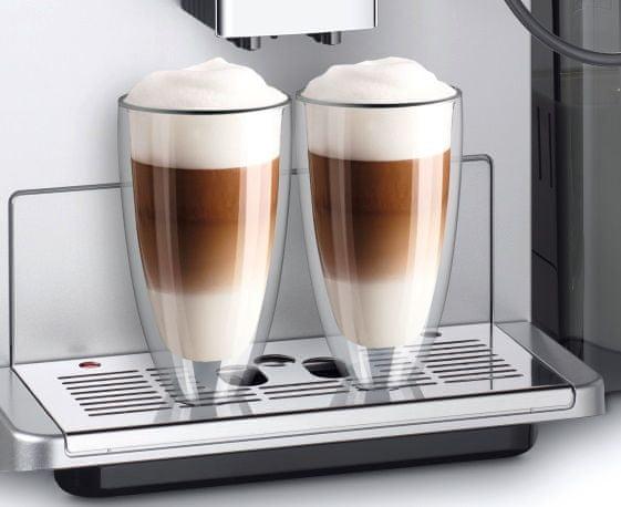 Automatický kávovar Melitta CI Touch Stříbrná 2 šálky najednou 10 kávových specialit italský proces přípravy