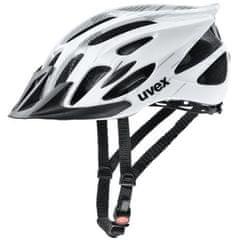 Uvex čelada Flash, črno-bela, 52-57