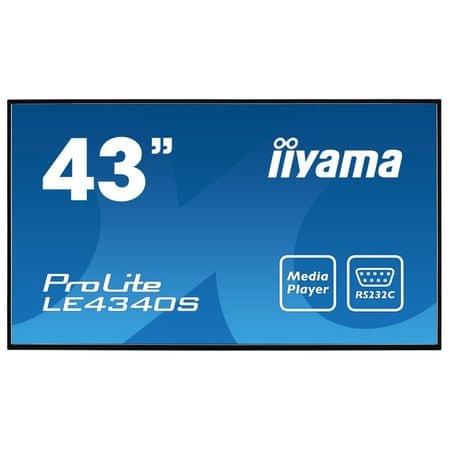 iiyama IPS monitor LE4340S-B1