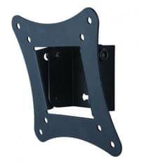 S-box stenski nosilec LCD-100, črn