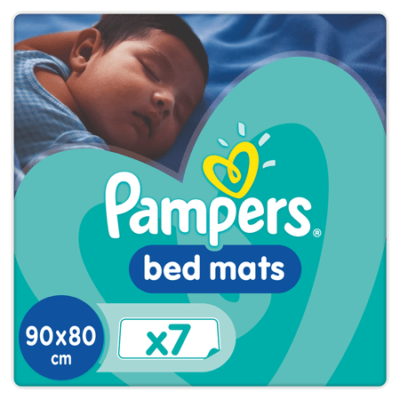 Pampers posteljne blazinice Bedmats, 7 kosov