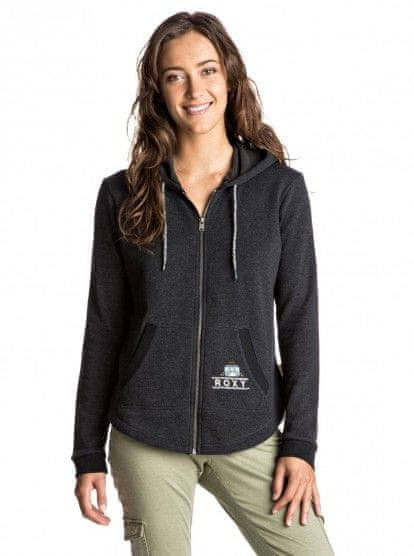 Roxy Hawser hoodie b J Anthracite S
