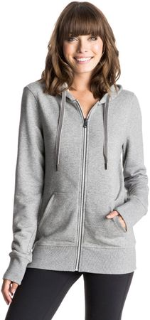 ROXY bluza Throw Down Hood J Heritage Heather XL