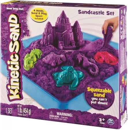 Kinetic Sand Box Sada 454 g fialová