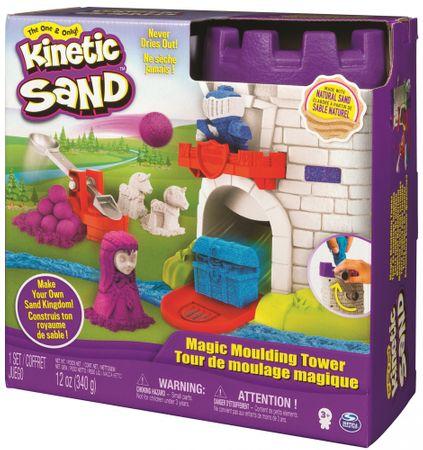 Kinetic Sand Középkori torony kiegészítőkkel, 340 g