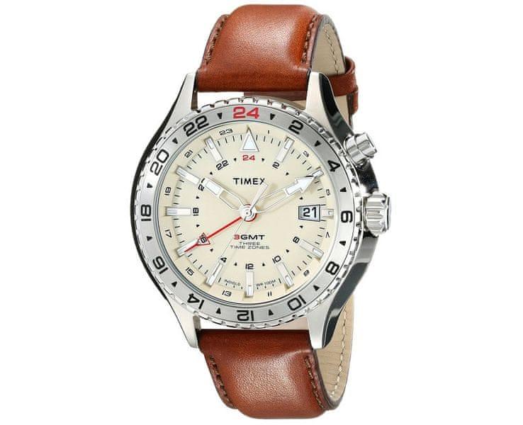 Timex 3-GMT Intelligent Quartz T2P426