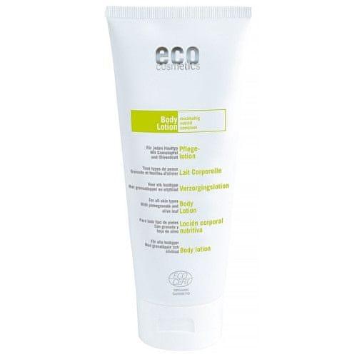 Eco Cosmetics Regenerační tělové mléko BIO s olivovým olejem a granátovým jablkem 200 ml