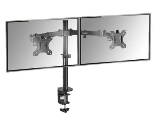 """VonHaus dvojni namizni nosilec za dva monitorja do diagonale 68,58 cm (27"""") (05/116)"""