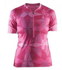 Craft ženska kolesarska majica Classic Jersey Geo POP