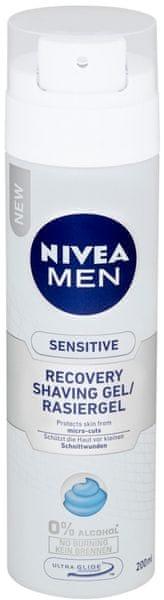 Nivea MEN Gel na holení Sensitive Recove 200 ml