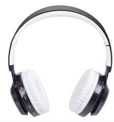 Trevi brezžične Bluetooth slušalke z mikrofonom DJ 1300 BTR, bele