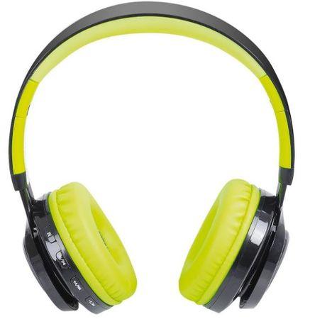 Trevi brezžične Bluetooth slušalke z mikrofonom DJ 1300 BTR, zelene