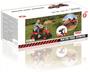 6 - DOLU Velký šlapací traktor, červený
