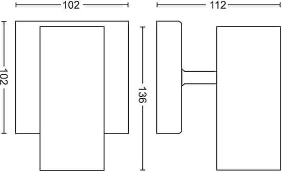 Philips HUE Buratto 50461/31/P7 s diaľkovým ovládačom