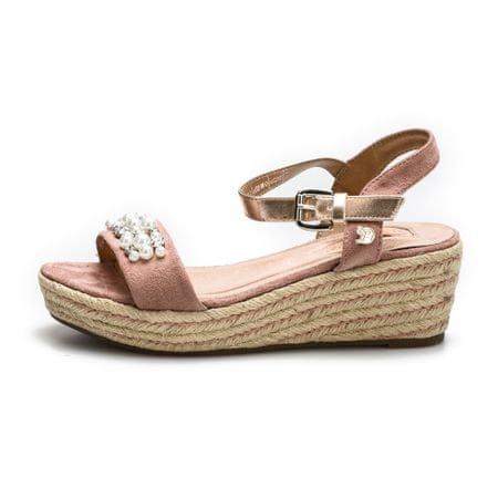 Tom Tailor sandały damskie 38 różowe