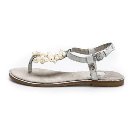 Tom Tailor dámské sandály 36 strieborná