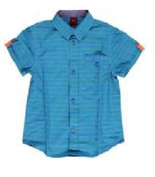 s.Oliver chlapecká košile 63.804.22.6379 128/134 modrá