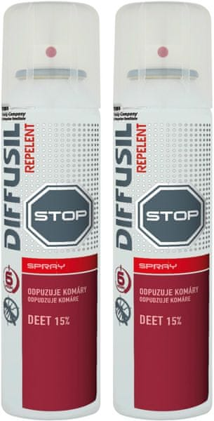DIFFUSIL Repelent Basic 2x 100 ml