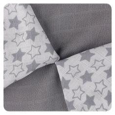 XKKO bambusovi prtički Little Stars, 30 x 30 cm