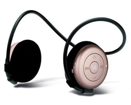 MIIEGO słuchawki Bluetooth AL3+ Woman, różowe
