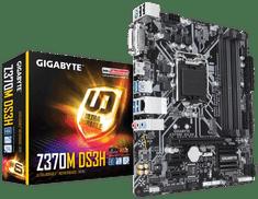 Gigabyte osnovna plošča Z370M DS3H, DDR4, SATA3, USB3.1Gen1, HDMI, LGA1151 mATX