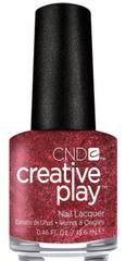 CND lak za nohte Creative Play Crimson Like It Hot (št. 415), 13,6 ml