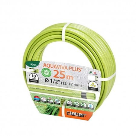 Claber cev za vodo Aquaviva Plus (9004), 13 mm, 25 m