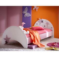 Otroška postelja Fairy 90x190 cm, roza