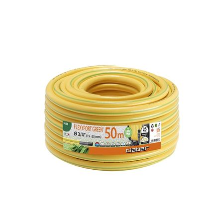 Claber cev za vodo Flexyfort Green (9131), 19 mm, 50 m