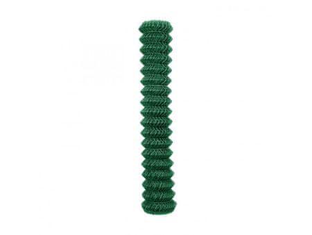 Čtyřhranné pletivo Zn+PVC 50 (kompakt, bez ND) - výška 100 cm, zelené, 15 m
