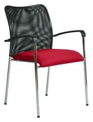 Antares Konferenční židle Spider červená