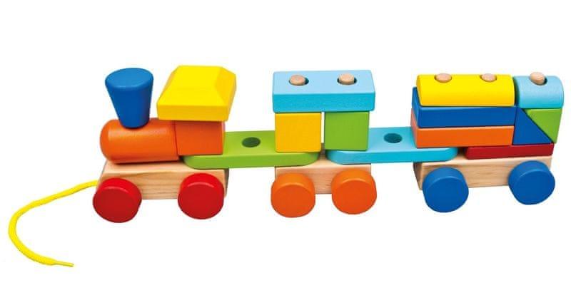 Bino Vláček s 2 vagóny