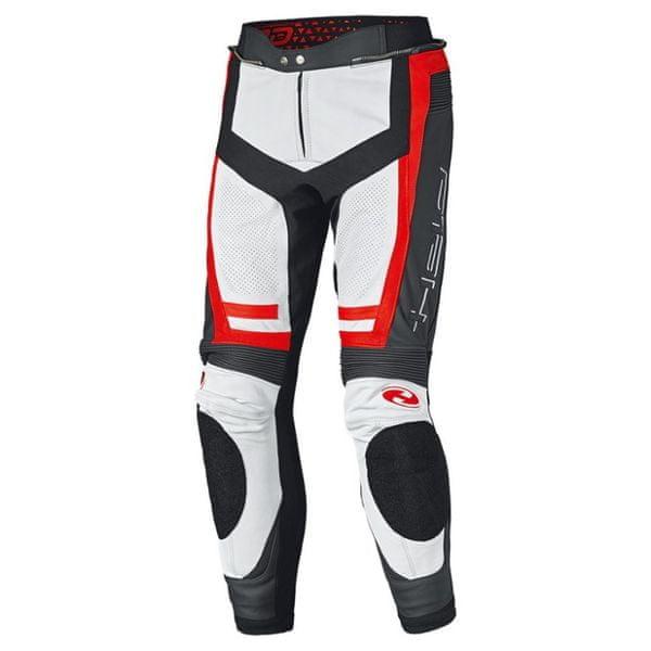 Held pánské kalhoty ROCKET 3.0 černá/bílá/červená vel.50, kůže