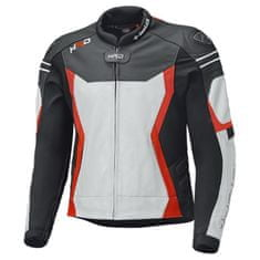 Held pánska športová moto bunda  STREET 3.0 čierna/biela/červená, koža