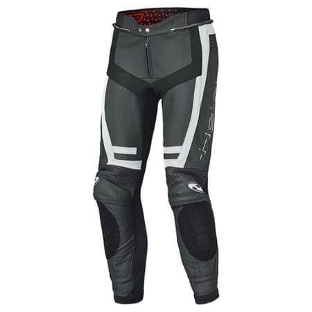 Held pánske šport moto nohavice  ROCKET 3.0 čierna/biela koža