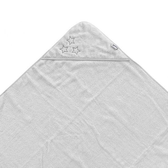 XKKO ręcznik kąpielowy z kapturem z bawełny frotte BIO Organic 90x90