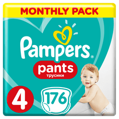 Pampers Pieluchomajtki Active Baby Pants 4, 176 szt.