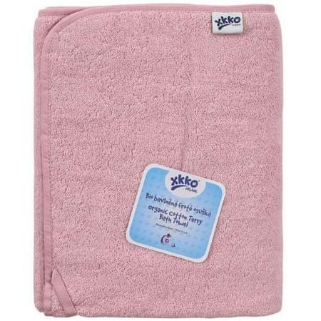 XKKO frotir brisača iz BIO bombaža Organic, 150 x 75, Baby Pink, roza