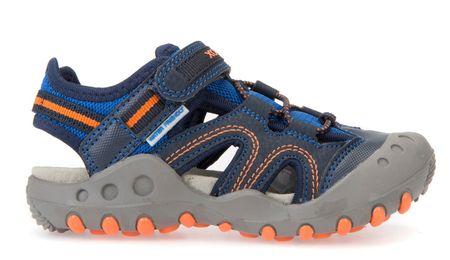 Geox chlapčenské sandále Kyle 33 modrá