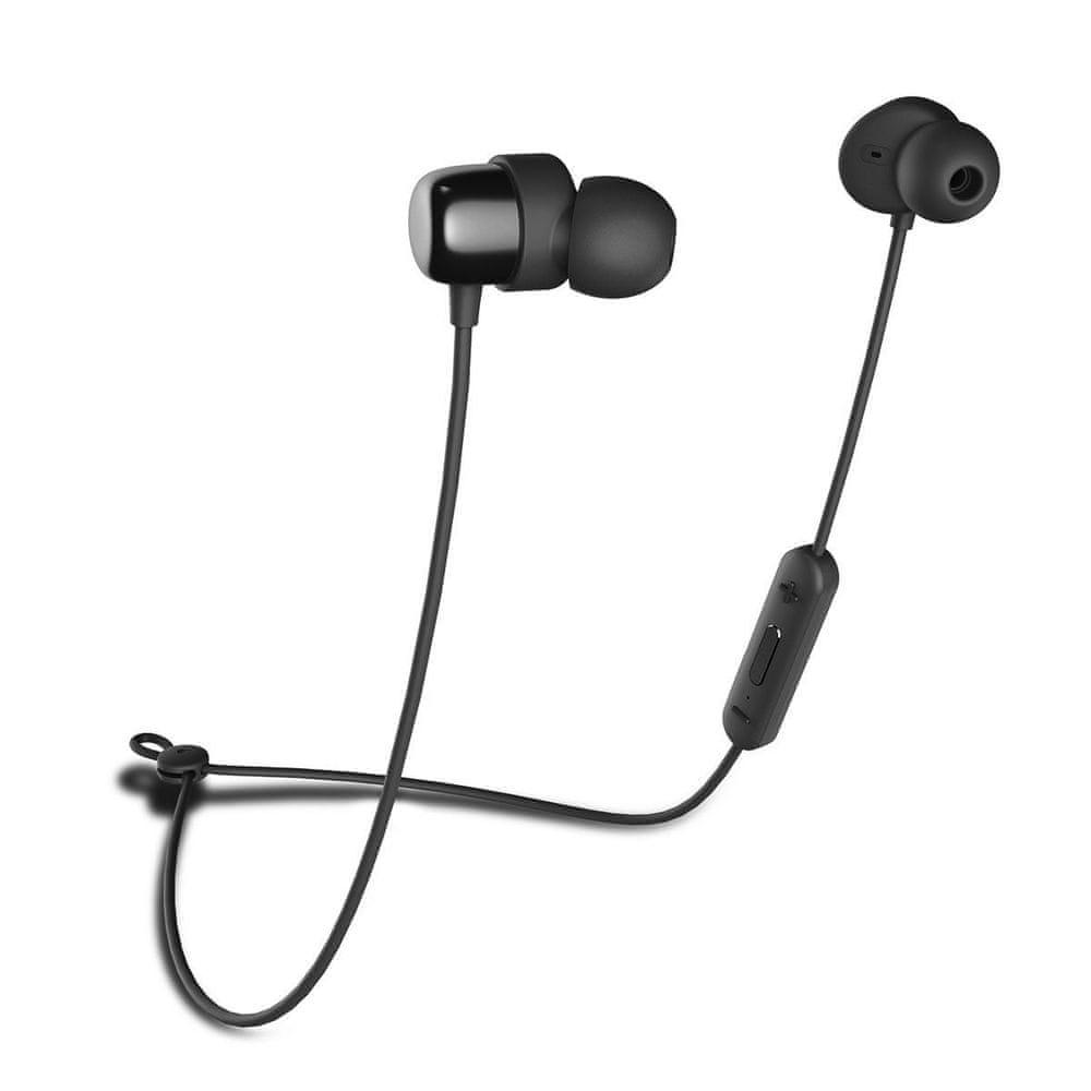 Niceboy HIVE E2 bezdrátová sluchátka, černá