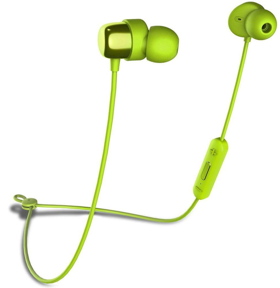 Niceboy HIVE E2 bezdrátová sluchátka, zelená