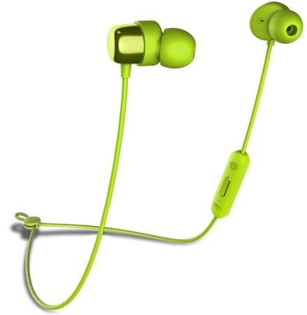 Niceboy Bluetooth slušalke HIVE E2, zelene