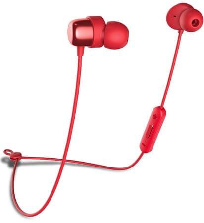Niceboy Bluetooth slušalke HIVE E2, rdeče